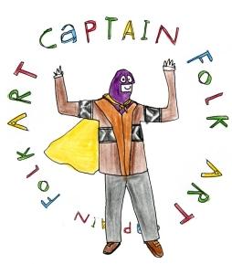 captain folk art